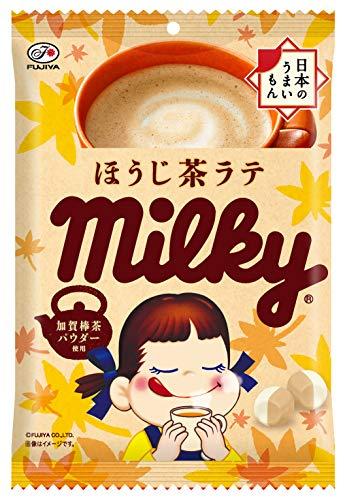 후지야(Fujiya) 밀키(엽차라떼) 80g ×6 포