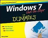 Windows 7 Just the Steps for Dummies: Epub Edition