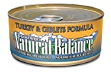 Natural Balance Turkey and Giblets Formula Cat Food (Pack of 24 6-Ounce Cans), My Pet Supplies