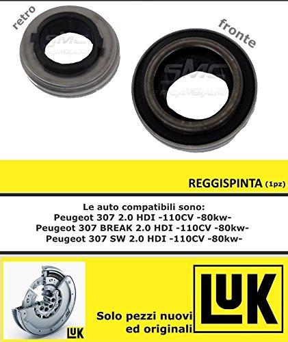 LuK 601002100-Kit de embrague PEUGEOT 307 SW (3H) 2,0 HDI 110 2002 al 0 79 CC: KW: Amazon.es: Coche y moto