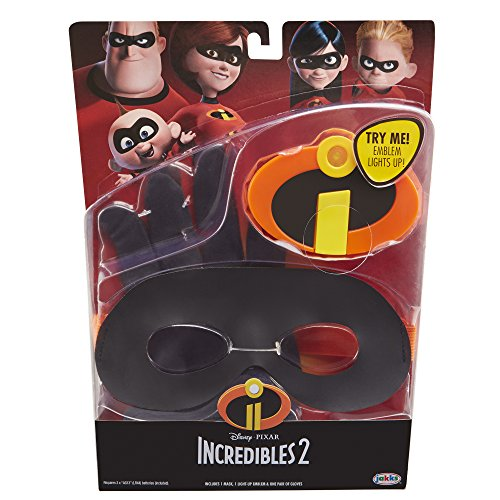 Best Incredibles Toys Reviewed : Incredibles gear dress up set unisex child one size