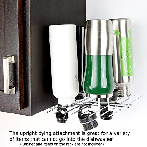 Glass Hanger Upright Drying Attachment for Decanter, White by Glass Hanger