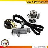 #8: Timing Belt Water Pump Tensioner Kit Fit 1999-2006 VW Beetle Golf Jetta Passat And Audi A4 Quattro/TT/TT Quattro 1.8L 1.8T DOHC Turbocharged