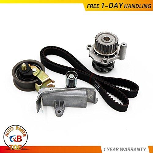 (Timing Belt Water Pump Tensioner Kit Fit 1999-2006 VW Beetle Golf Jetta Passat And Audi A4 Quattro/TT/TT Quattro 1.8L 1.8T DOHC Turbocharged)