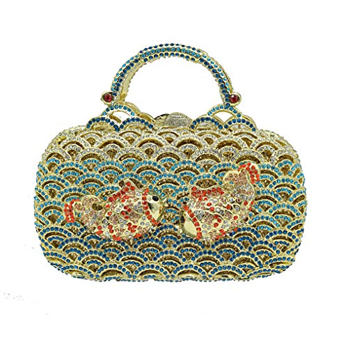 De Mode Dames De à Luxe Blue Main Sac De 0T4nwEaXq
