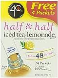 4C Half & Half Iced Tea Lemonade Mix- Sugar Free 24 pkts