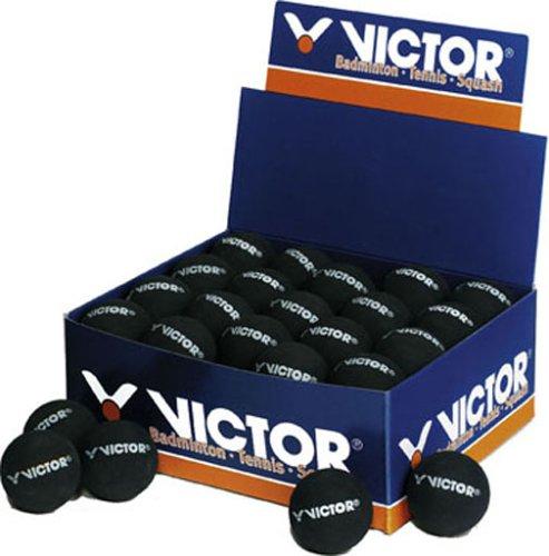 VICTOR - International Squashball DOPPELGELB 168/7/0