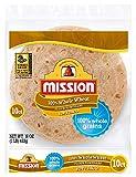 Mission Soft Taco Whole Wheat Tortillas, Whole
