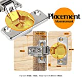 Cabinet Hinges, Litelong 8 Pack 110° Soft Close