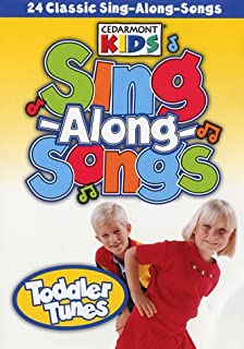 Amazon.com: DVD-100 Singalong Songs For Kids (3 DVD): Cedarmont ...