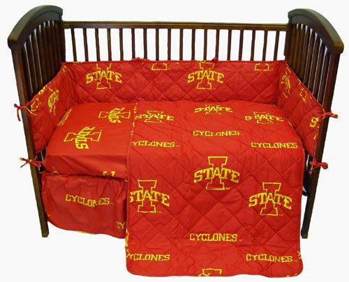 NCAA Iowa State Crib Bedding Collection