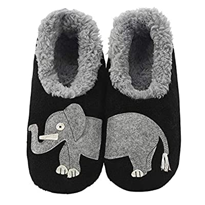 Snoozies Pairables Womens Slippers - House Slippers - Elephant