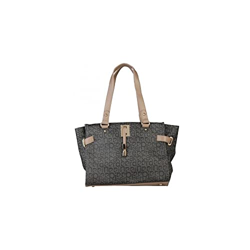 37d4b6256d Pierre Cardin, Borsa tote donna Grigio grigio: Amazon.it: Scarpe e borse