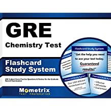 GRE Chemistry Test Flashcard Study System: GRE Subject Exam Practice Questions & Review for the Graduate Record...