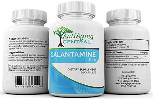Galantamine 8 mg at Price of 4 mg | 60 Capsules | Lucid Dreaming And Cognitive Enhancement