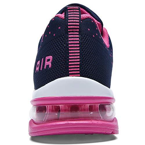 RomenSi Womens Air Athletic Running Sneakers Fashion Breathable Sport Gym Walking Tennis Shoes (US5.5-10 B(M) 2