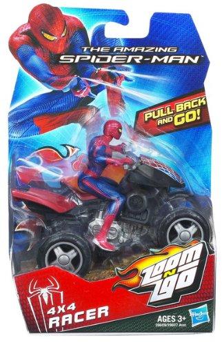 Spider man zoom n 39 go pull back vehicles spider quad import it all - Quad spiderman ...