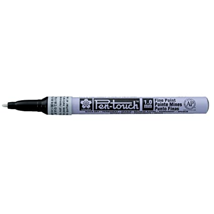 Amazon com: Sakura - Pen-Touch Paint Marker - Fine 1 0mm