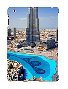 Hot New United Arab Emirates Skyscrapers Dubai Megapolis Case Cover For Ipad 2/3/4 With Perfect Design