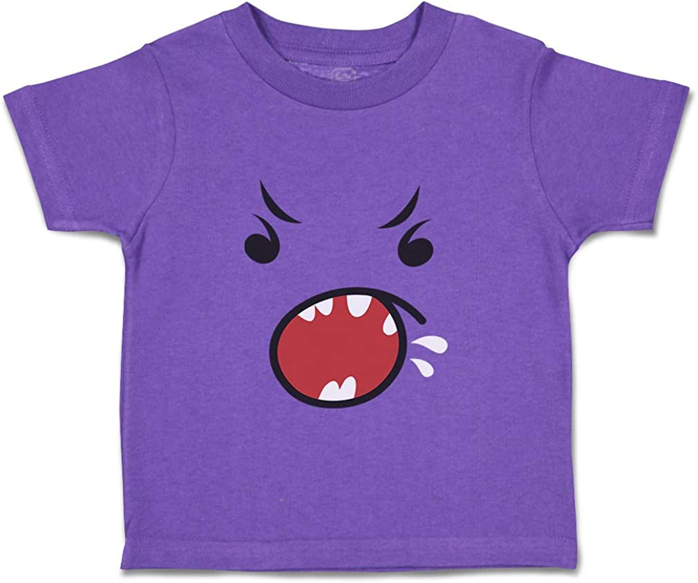 Custom Baby /& Toddler T-Shirt Face Yelling Cotton Boy Girl Clothes