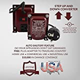 ACUPWR AUD-150 150-Watt 110-120 volts to 220-240 Volts (and vice-versa) to Step Down/Step Up Voltage Transformer/ Converter Ideal for Samsung LED TVs, xBox 360, Playstation, iMac, Bose Lifestyle sound systems, iPad, phone and camera chargers, Vornado fans