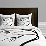 Deny Designs Madart Inc. Modern Dance Moon Song Duvet Cover, Twin/Twin XL