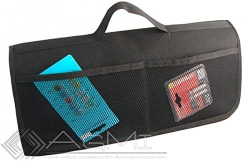 EJP-Bag Praktische Kofferraumtasche in Schwarz gro/ß f/ür jedes Fahrzeug Passend f/ür SL R129