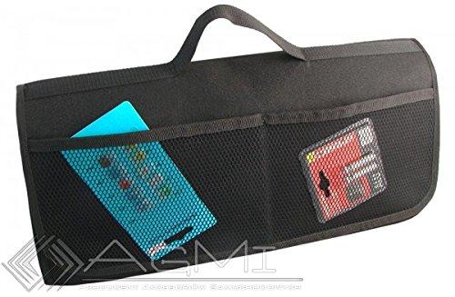 EJP-Bag Praktische Kofferraumtasche in Schwarz gro/ß f/ür jedes Fahrzeug Passend f/ür SL R230
