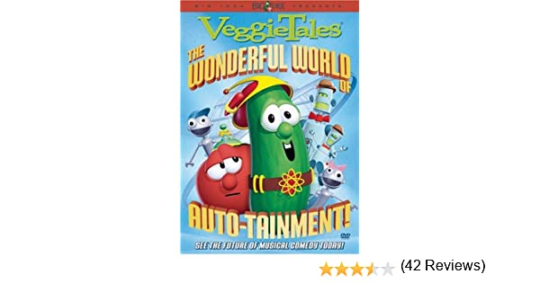 Amazon.com: Veggie Tales: The Wonderful World of Auto-tainment ...
