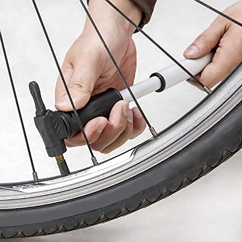 SaveStore 90-100psi Mini Portable Bicycle Pump MTB Road Bike Tire Ball Hand Air Pump High Pressure Inflator Cycling Accessories by SaveStore (Image #1)