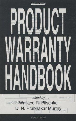 product warranty handbook - 1