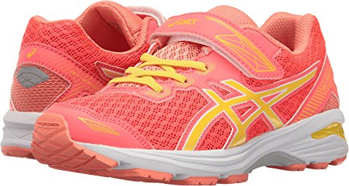 Price comparison product image ASICS Girls' GT-1000 5 PS Running Shoe, Diva Pink/Sun/Melon, 3 M US Little Kid