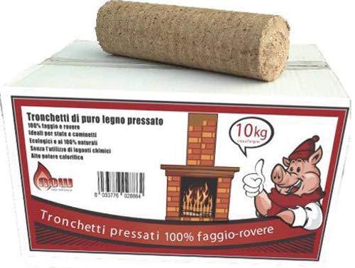TRONCHETTO IN LEGNO 100/% FAGGIO DI ROVERE 10 kg.