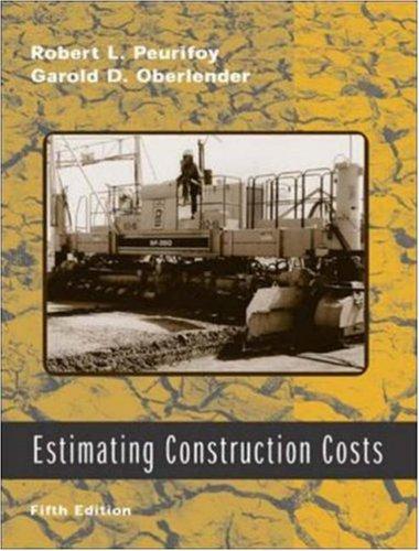 Estimating Construction Costs w/ CD-ROM (Construction Estimating Program)
