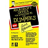 Microsoft Office for Windows For Dummies: Quick Reference