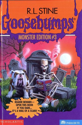 Goosebumps Monster Edition 3 The Ghost Next Door Ghost Beach And The Barking Ghost Stine R L 9780590366731 Amazon Com Books