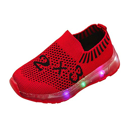 New Special Prada Shoes - XoiuSyi,Children Kid Girls Boys Special Led Light Number Luminous Sport Mesh Student Shoes