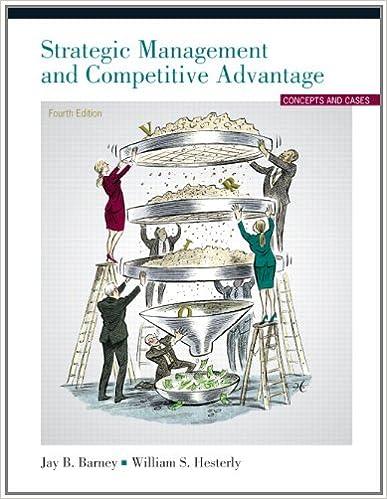 Amazon strategic management and competitive advantage 4th strategic management and competitive advantage 4th edition 4th edition fandeluxe Image collections