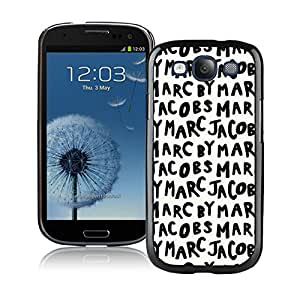 Marc by Marc Jacobs 03 Black Samsung Galaxy S3 Cellphone Case High Quality and DIY Design