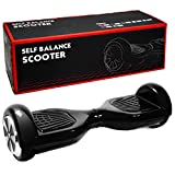 Self-Balancing Scooter 2 Wheels Electric Hoverboard UL Certified Various Colors (black)