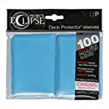 PRO-Matte Eclipse Sky Blue Standard Deck Protector sleeves (100 count pack)