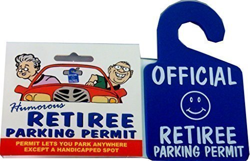 Retiree Parking Permit -
