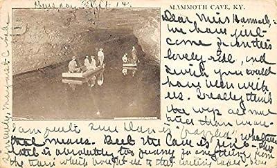 Caves Post Card Mammoth Cave Kentucky, USA 1905