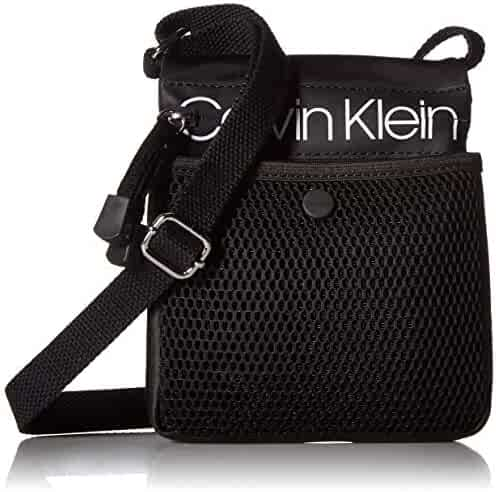 c2a6c12f2 Calvin Klein Tabbie Nylon Multi-Pocket Organizational Crossbody