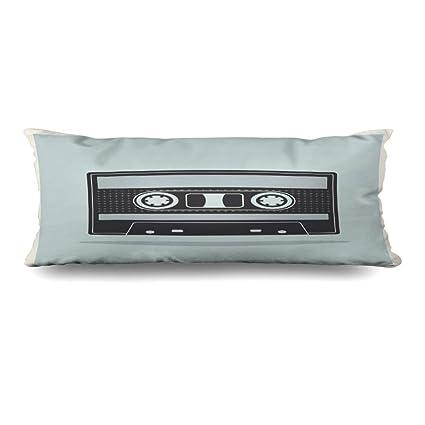 Amazon com: Ahawoso Body Pillows Cover 20x54 Inches Music