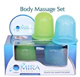 Kyпить Mira Dynamics International Body Massage Cups ,Set Includes 1 Soft (Green) and 1 Hard (Blue) Cups на Amazon.com