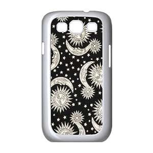 Sun Moon Pattern Customized Cover Case for Samsung Galaxy S3 I9300,custom phone case ygtg542446