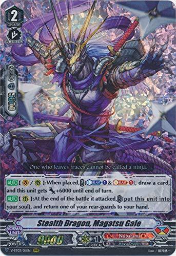 - Cardfight!! Vanguard - Stealth Dragon, Magatsu Gale - V-BT03/011EN - RRR - Miyaji Academy Cardfight Club