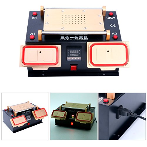 YaeTek 3 IN 1 MIDDLE BEZEL FRAME SEPARATOR MACHINE+ LCD SCREEN +BUILT IN VACUUM PUMP by YaeTek