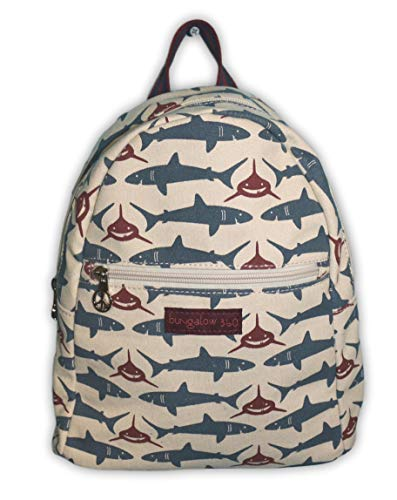 Bungalow 360 Adult Mini Backpack (Shark, small) ()